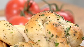 Garlic Parmesan Knots - Video