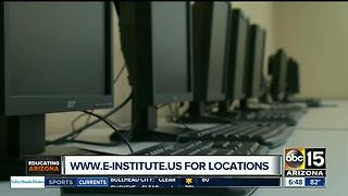 e-Institute helps kids get ahead in school for free - Video
