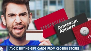 A warning if you buy gift cards this season - Video