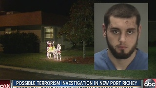 Possible terrorism investigation in New Port Richey - Video