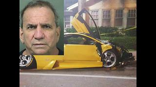 Roger Wittenberns: Delray Beach Lamborghini driver charged in crash that killed 82-year-old Uber driver - Video