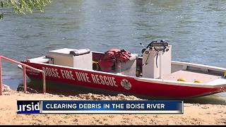 Boise River Clean Up - Video