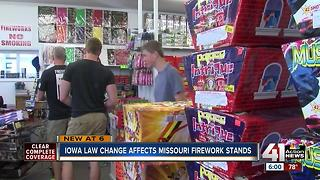 MO fireworks stores aim to keep business booming - Video