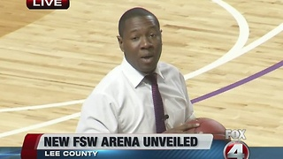 New basketball arena opens on Florida Southwestern State College campus - Video