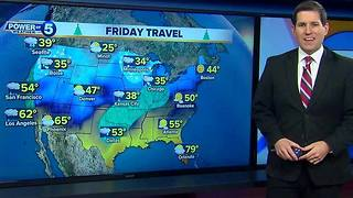 Traveling for the holidays? Here's a look at your forecast - Video
