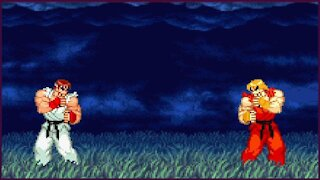 Street Fighter Alpha 2 - Super Nintendo