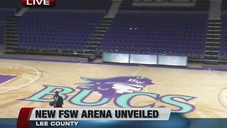 New basketball arena opens on FSW campus - 7am live shot - Video