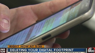 Tech experts: delete digital footprint before ditching old device - Video