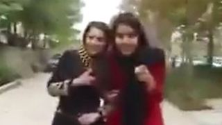 A challenge by young people in Shiraz - Video