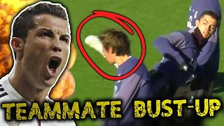 REVEALED: Cristiano Ronaldo BUST-UP With Real Madrid Teammate?! | #VFN - Video