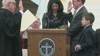GT Bynum sworn in as mayor of City of Tulsa - Video