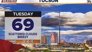 Chief Meteorologist Erin Christiansen's KGUN 9 Forecast Monday, December 5, 2016 - Video