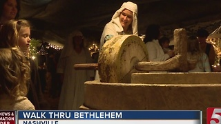 Many Take A 'Walk Thru Bethlehem' - Video