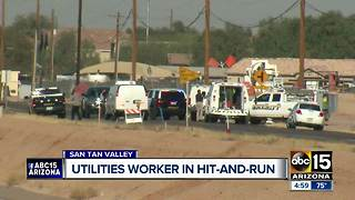 Johnson Utilities employee accused in deadly hit-and-run crash - Video