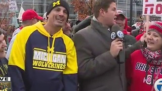 Fans tailgate ahead of Michigan vs. Ohio State