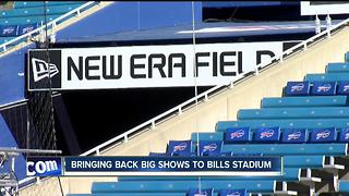 Bringing big shows back to New Era Field--6pm - Video