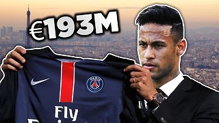 Neymar to PSG for €193m? | Transfer Talk - Video