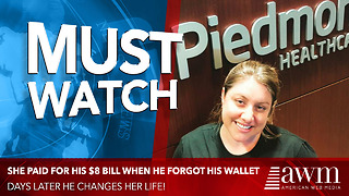 She Paid For His $8 Bill When He Forgot His Wallet At Home, Days Later He Changes Her Life - Video