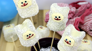 How to make bunny cake pops - Video