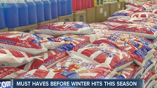 Must haves before winter hits this season - Video