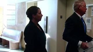 Tulsa Police officer Betty Shelby in court for preliminary hearing in Terence Crutcher case - Video