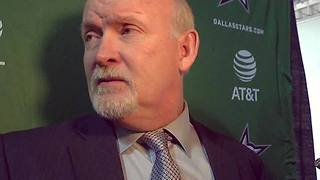 Dallas Stars coach Lindy Ruff discusses game against Sabres
