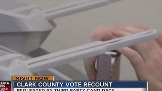 Clark county joins Nevada recount - Video