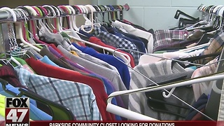 Local school looking for donations for community closet - Video