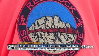 Red Rock Search & Rescue gets new life saving technology - Video