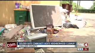 Golden Gate Community Hosts Neighborhood Cleanup - Video