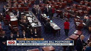Vote on health care bill postponed - Video