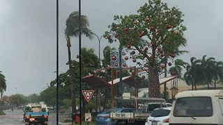Flooded Roads After Heavy Downpour in Broome - Video