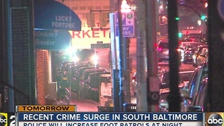 South Baltimore crime surge
