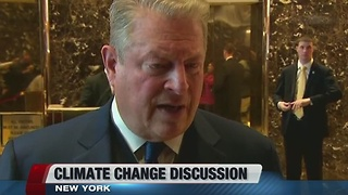 Ivanka Trump discusses climate change with Al Gore