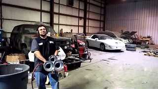 Mechanic Celebrates 5pm on a Friday in a Very Special Way - Video
