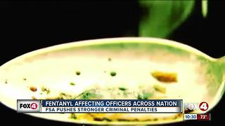 Fentanyl affecting officers across the nation - Video