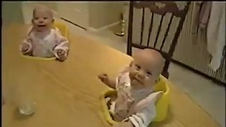 Baby laugh like crazy funny short clip - Video