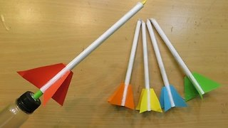 How to Make a simple Rocket Launcher - how made toy for kids - toy for kid  - Video