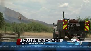Firefighters making progress on Lizard Fire - Video