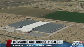 First meeting about Monsato greenhouse this evening - Video