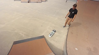 Intense series of skateboard fails