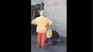 Kind-Hearted Man Buys All The Candy From Boy That Was Harassed By Old Lady   - Video