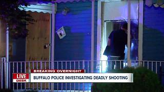 Buffalo police investigate deadly overnight shooting - Video