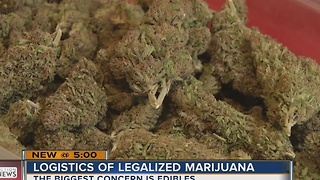 Clark County looks at logistics of legalizing marijuana - Video
