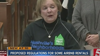 Battle Heats Up Over Some Short Term Rentals In Nashville - Video