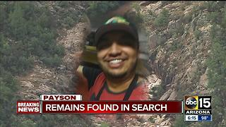 BREAKING: Remains found in Payson flash flood search - Video
