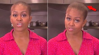 Michelle Obama looks bald on 'Jeopardy'