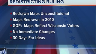 Federal court blocks Wisconsin GOP's redistricting maps - Video