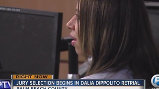 Jury selection underway in Dalia Dappolito retrial - Video
