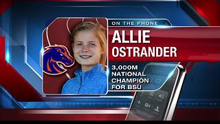 Ostrander becomes a National Champion - Video